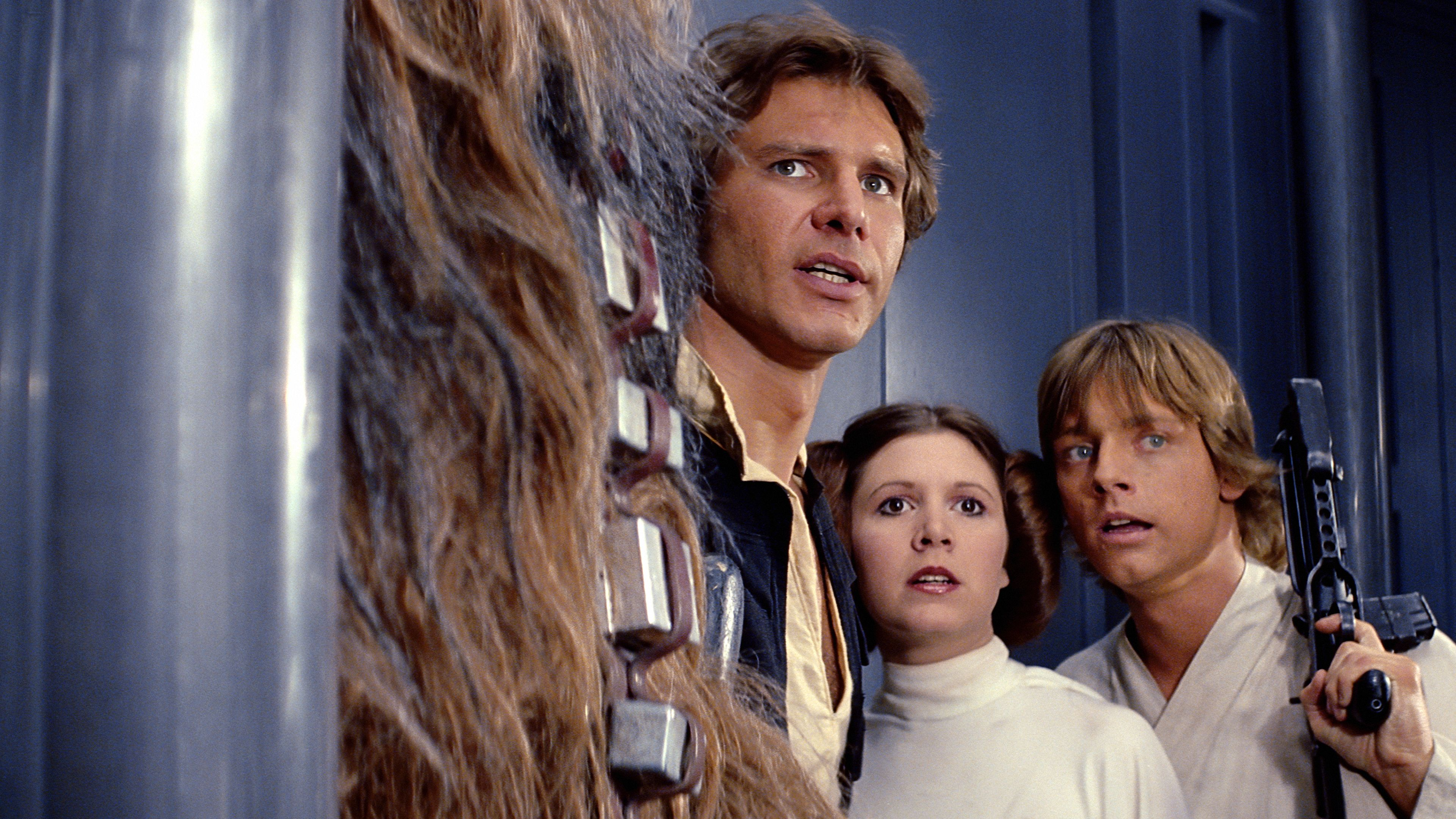 Watch Star Wars A New Hope Episode Iv Disney