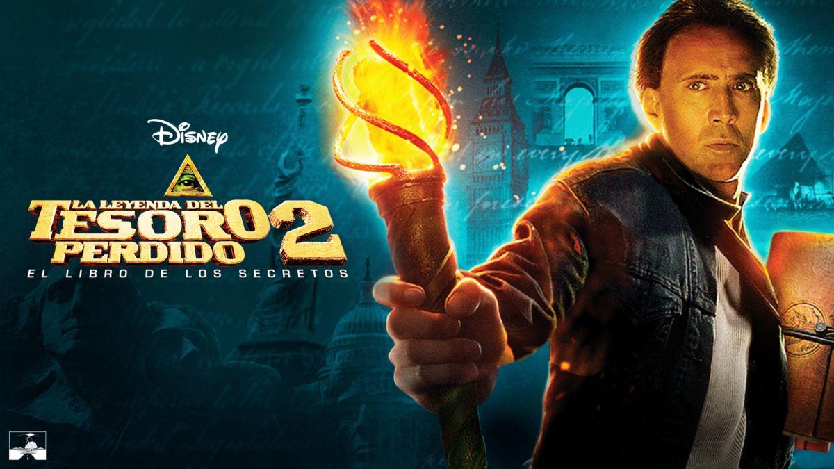Ver La Leyenda Del Tesoro Perdido 2 El Libro De Los Secretos Película Completa Disney