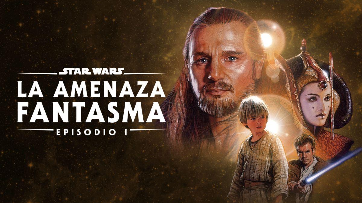Ver Star Wars: La amenaza fantasma (Episodio I) | Película completa | Disney+
