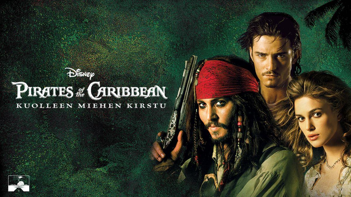 Pirates Of The Caribbean Kuolleen Miehen Kirstu