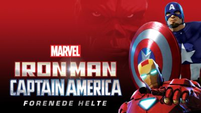 Marvels Iron Man & Captain America: Forenede helte