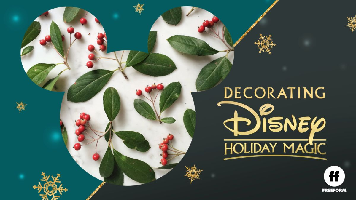 Regarder Decorating Disney: Holiday Magic   Film complet   Disney+
