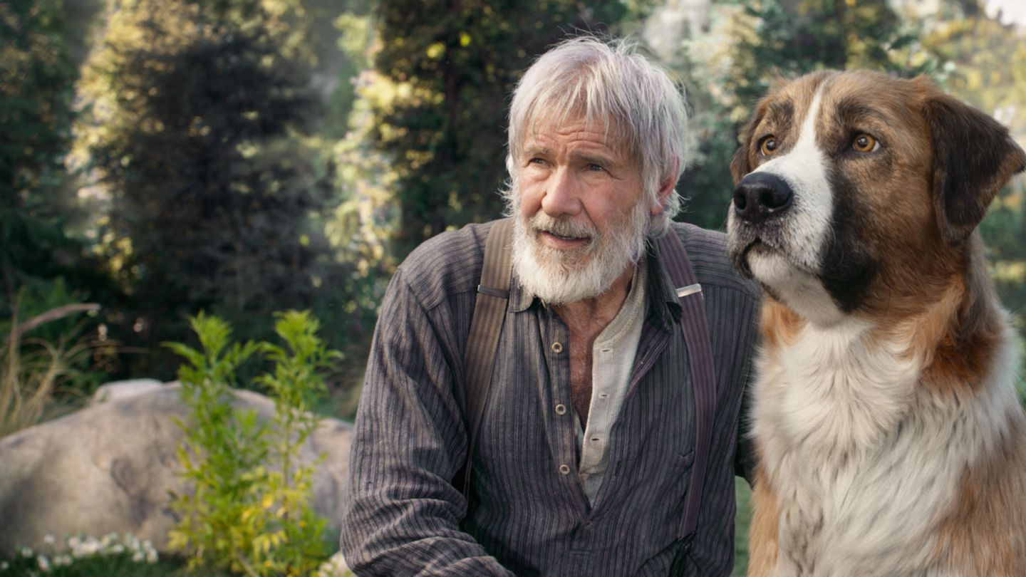 Harrison Ford in The Call of the Wild filmrecensie