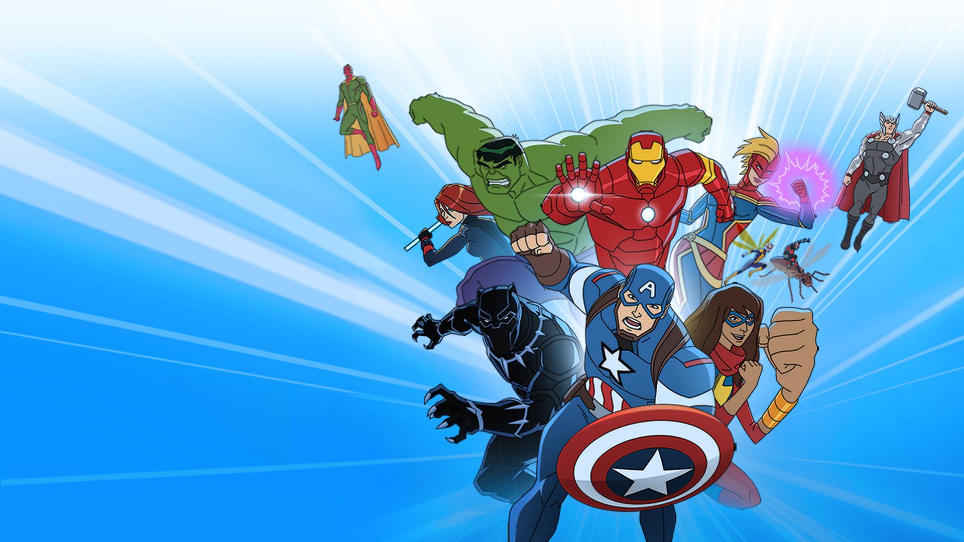 Watch Avengers Assemble Disney