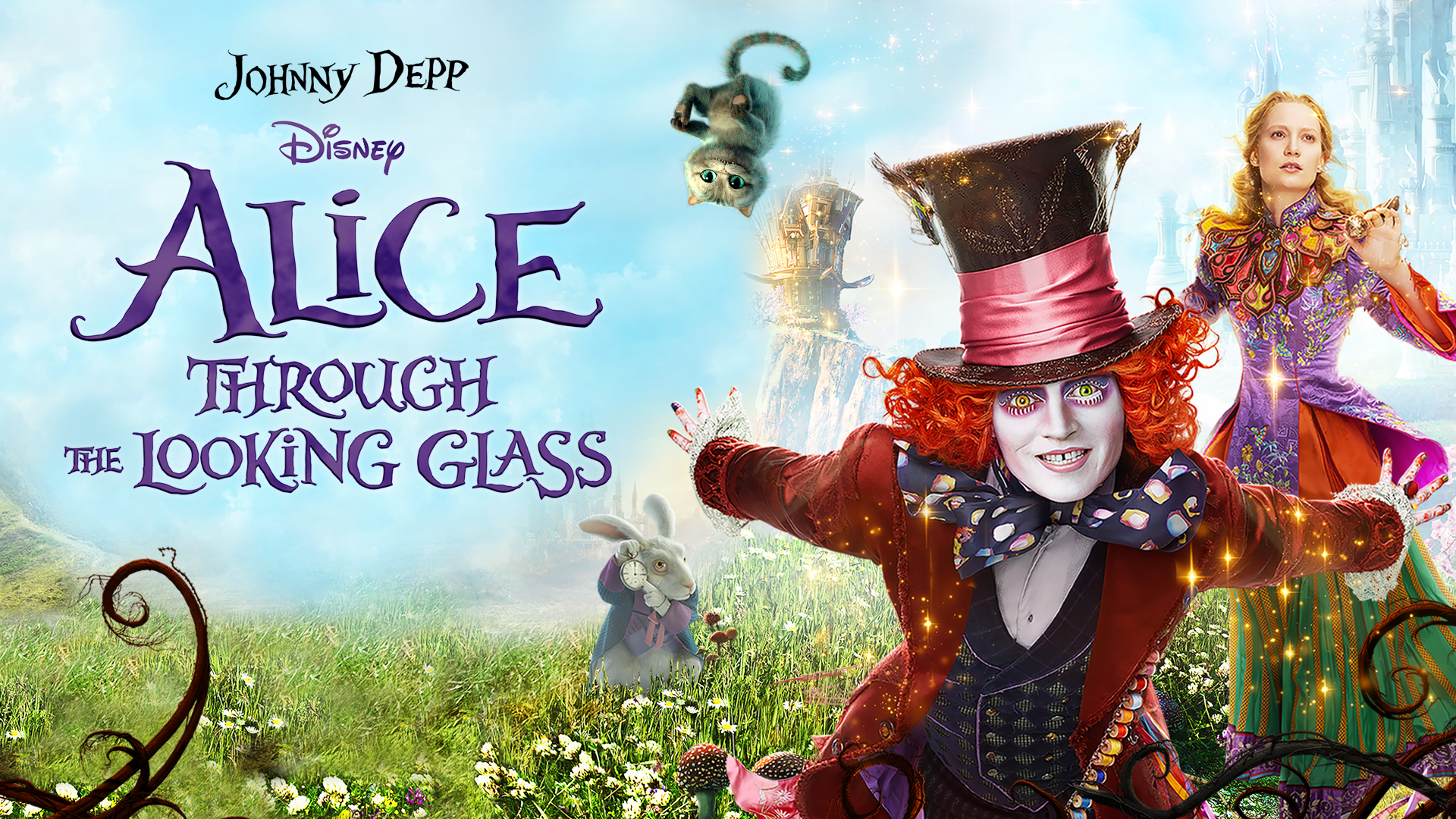 Watch Alice Through The Looking Glass Disney