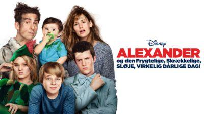 Alexander og den frygtelige, skrækkelige, sløje, virkelig dårlige dag!
