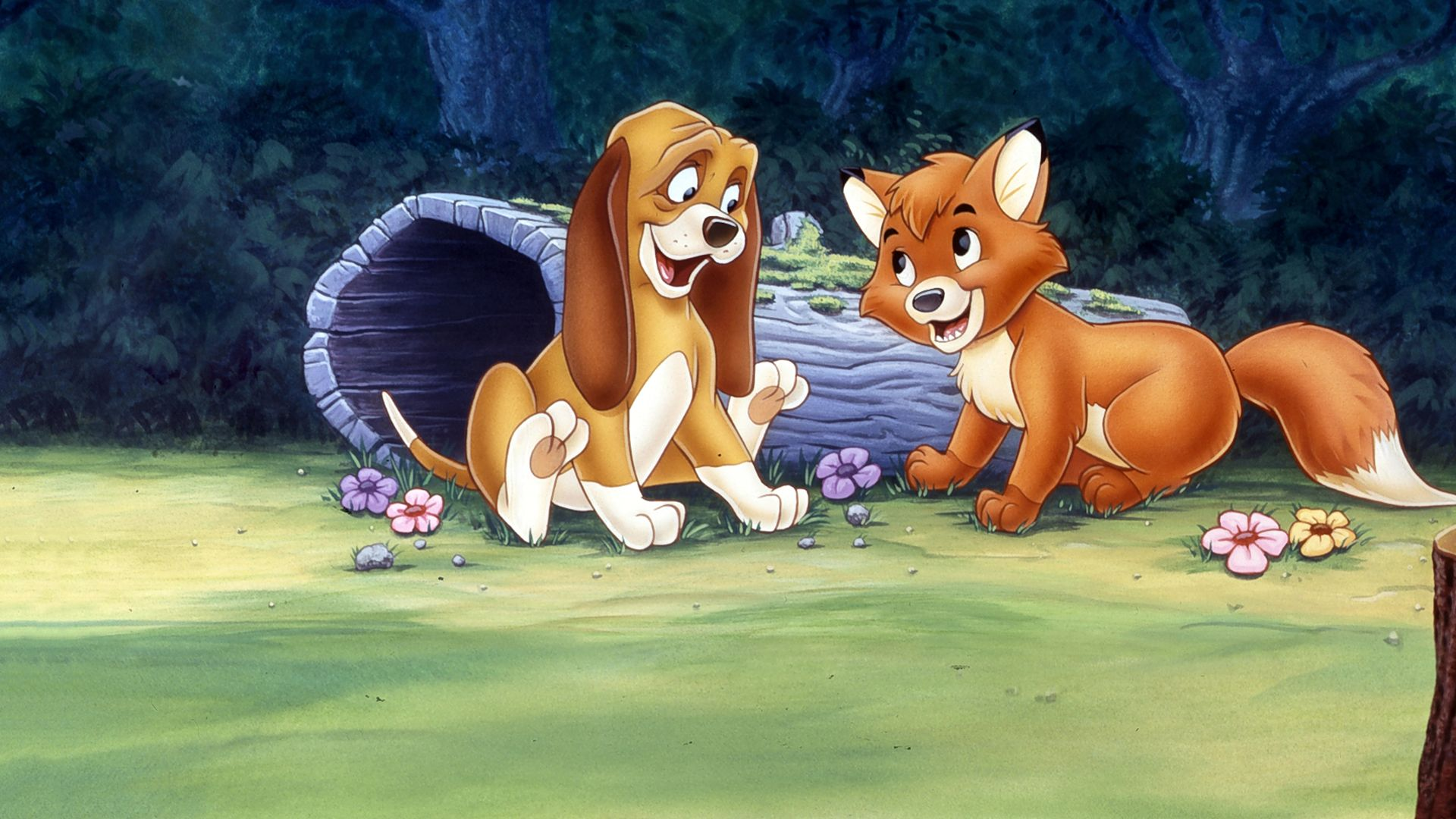 Watch The Fox And The Hound Disney