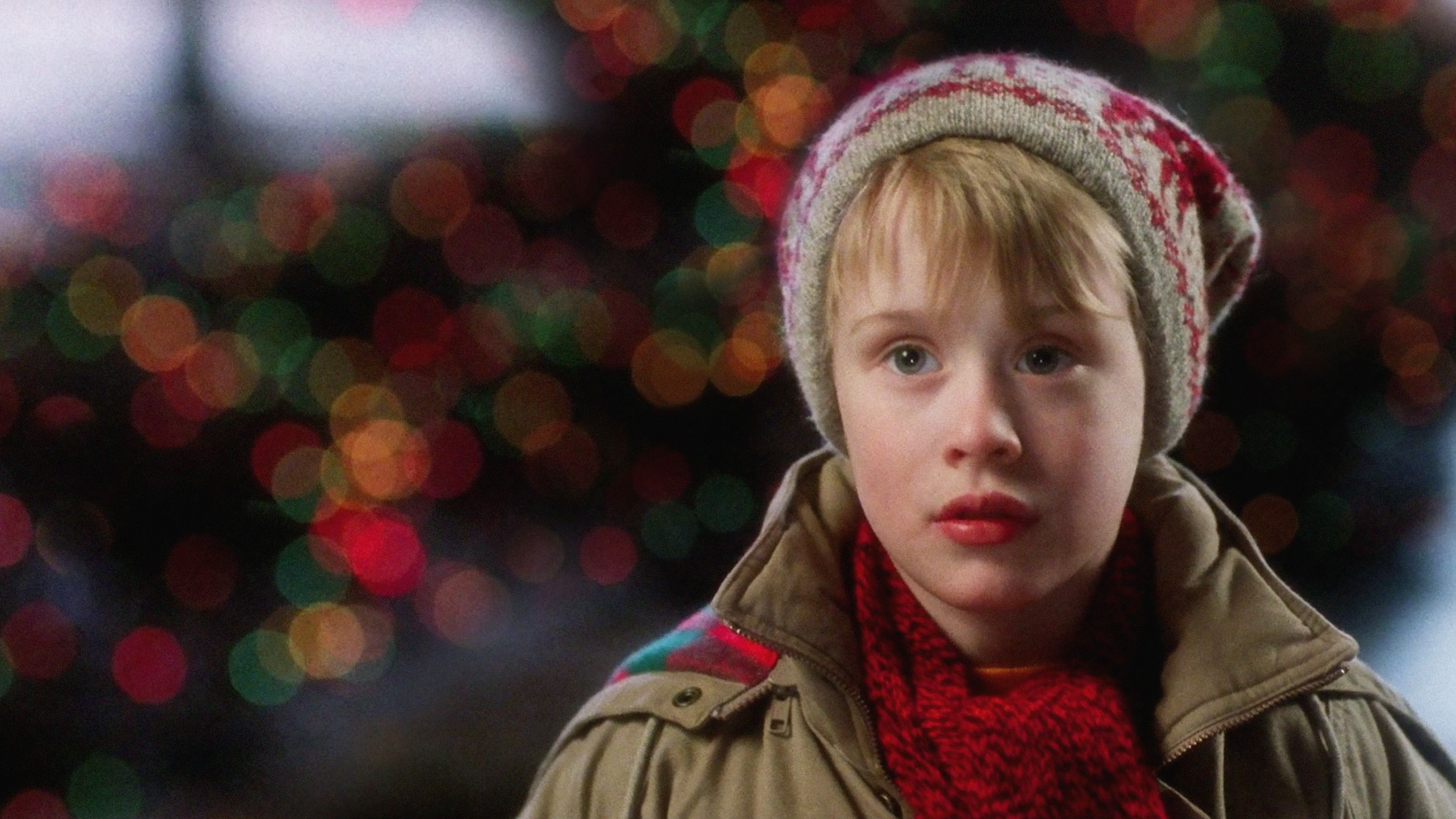 "Home Alone"" Christmas movie"