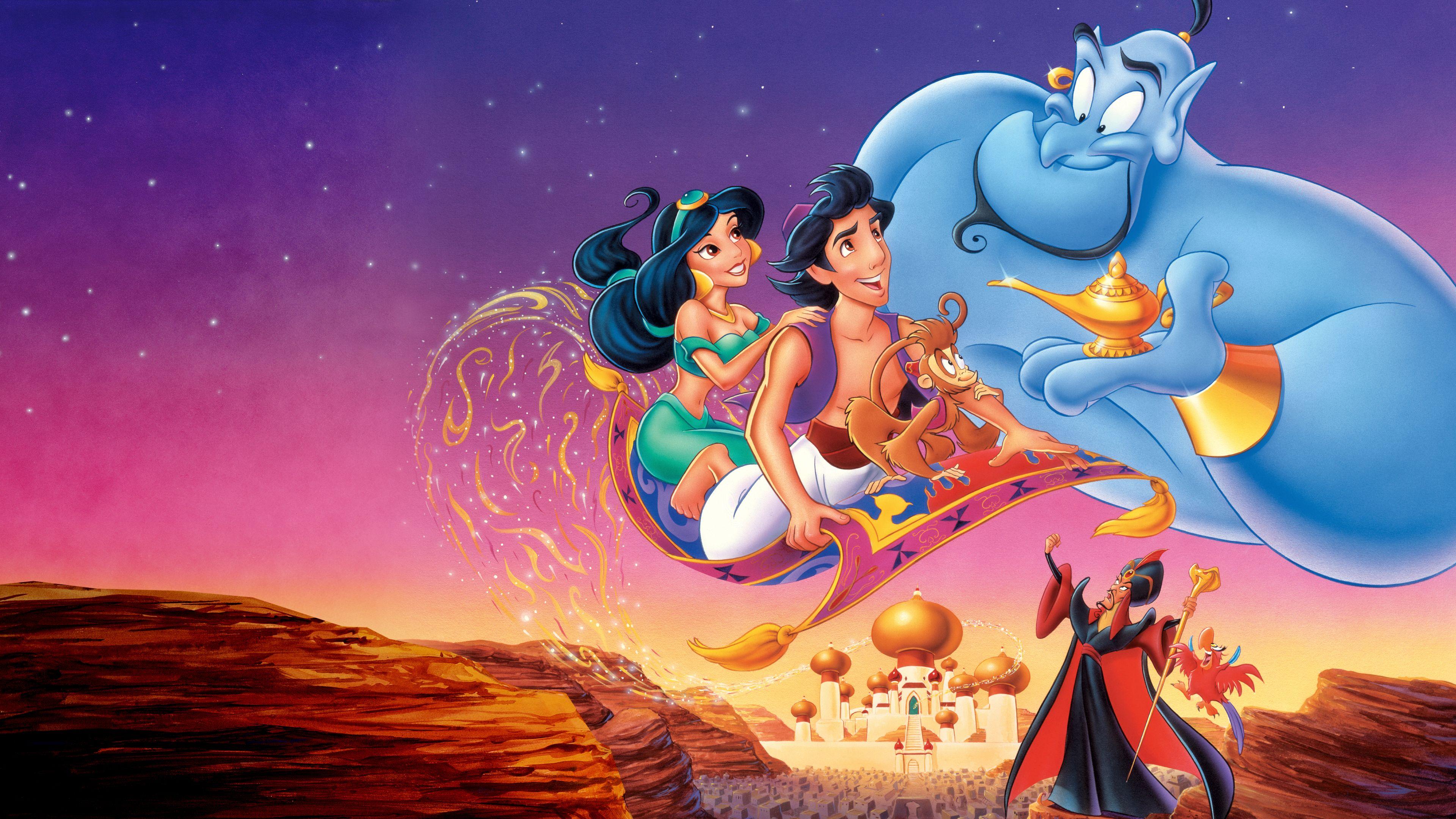 Animation Cartoon Full Movie watch aladdin (1992)   full movie   disney+