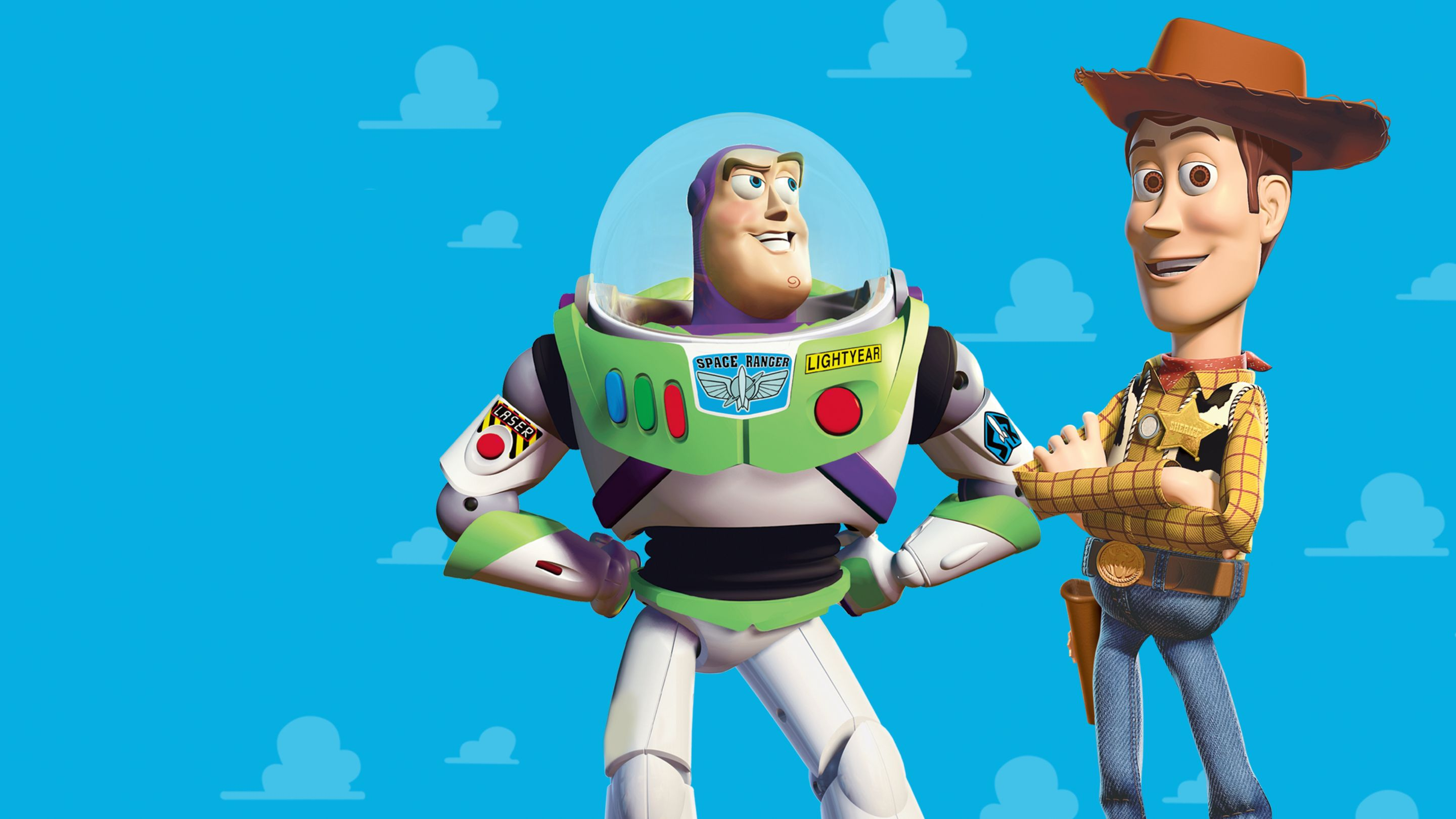 Toy story, Computer animated film where toys come to life when humans were not present. It shows the relationship between the cowboy doll and the astronaut toy.