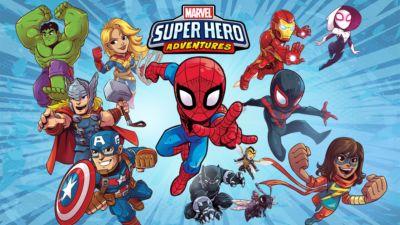 Marvel Superhero Adventures(Shorts)